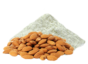 Cupeta of almonds