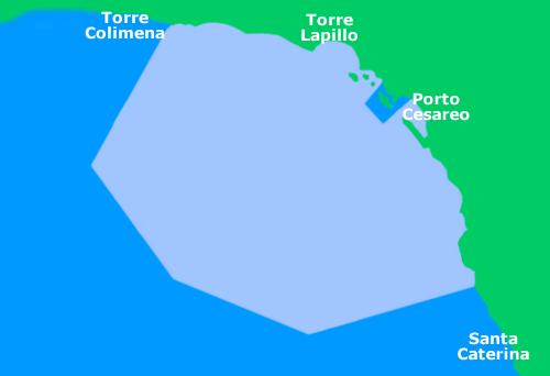 Marine protected area of Porto Cesareo