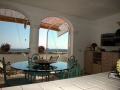 Rental apartment in Puglia Casa Carenza - view from kitchen