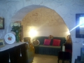 Trullo for rental - Puglia Italy - Corvetta sofa