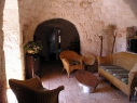 Trullo Le 300 Fronde, living room